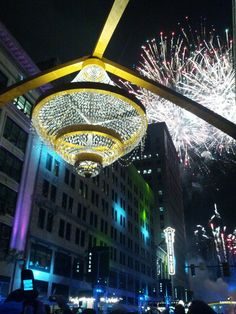 Playhouse Square Chandelier lighting 2014