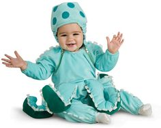 So cute!! #Octopus #Baby #Costume