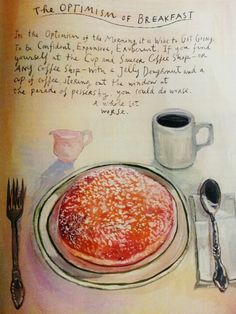 The Optimism of Breakfast, by Maira Kalman. In the Jul-22 2013 issue of the New Yorker.