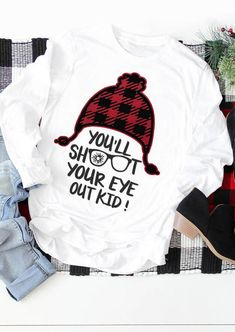 You'll shoot your eye out svg christmas story svg christmas svg christmas svg christmas phrase svg christmas movie svg Source by Look t-shirt Christmas Phrases, A Christmas Story, Christmas Pjs, Christmas Shirts For Kids, Christmas Vinyl, Funny Christmas Shirts, Christmas Ideas, Xmas Shirts, Winter Shirts