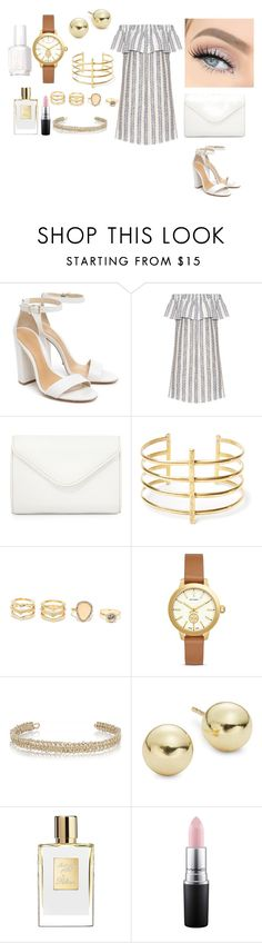 """""""fation"""" by chisomnatalie on Polyvore featuring Schutz, Sea, New York, Neiman Marcus, BauXo, LULUS, Tory Burch, Maison Margiela, Lord & Taylor, MAC Cosmetics and Essie"""