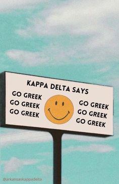 Tri Delta, Alpha Delta, Sorority Canvas, Sorority Life, Theta, Kappa, Spring Recruitment, Big Little Basket, Go Greek