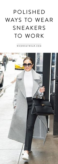 Olivia Culpo wears Balenciaga Le Dix Cartable Leather Shoulder Bag, Wolford Colorado Bodystio and Tod's Leather Slip-On Sneakers Sneakers Outfit Work, How To Wear Sneakers, Sneakers Fashion Outfits, Casual Outfits, Olivia Culpo, Slip Ons Outfit, Celebrity Sneakers, Look Street Style, How To Wear Scarves