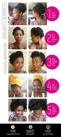 b1162f9c803e8 My Fro & I : A South African Natural Hair Blog Long Natural Hair, Natural