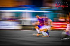 Trying to freeze time is impossible but to capture motion in an image well... #PhotosByLoopii #FootballArtByLoopii