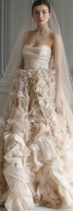 Wedding dress - Monique Lhuillier LBV