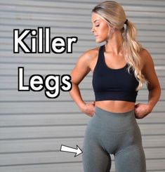 Intense Leg Workout, Killer Leg Workouts, Arm Flab, Big Legs, Killer Legs, Strong Legs, Anorexia, Stay In Shape, Fitness Tips