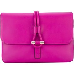 Tila March Romy clutch ($373) ❤ liked on Polyvore featuring bags, handbags, clutches, pink, real leather handbags, 100 leather handbags, pink leather handbags, real leather purses and pink leather purse
