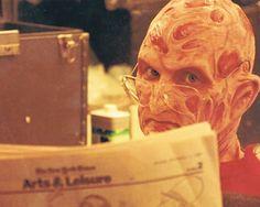 A Nightmare on Elm Street Robert Englund, Space Ghost, New Nightmare, Nightmare On Elm Street, Freddy Krueger, Scary Movies, Horror Movies, Funny Horror, Horror Art