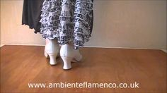 How to dance Flamenco Footwork - Free Video Tutorial for Tientos or Tangos