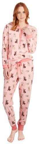 PJ Couture Pardon My French Bulldog Pajamas on shopstyle.com
