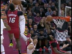 James Johnson had a Shaqtin a fool moment vs the Cleveland Cavaliers Sports Highlights, Fall Shorts, Left Handed, Sports News, The Fool, Cleveland, In This Moment, Youtube, Youtube Movies