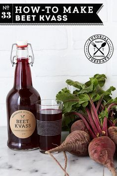 How-to Make Beet Kvass // A Cleansing Medicinal Tonic // @tastyyummies // www.tasty-yummies.com