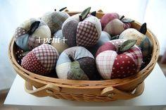 パッチワークのリンゴ : +petit+