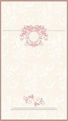 Floral Pattern Wallpaper, Flower Background Wallpaper, Retro Background, Flower Backgrounds, Background Patterns, Wallpaper Backgrounds, Wedding Background Images, Wedding Invitation Background, Certificate Background