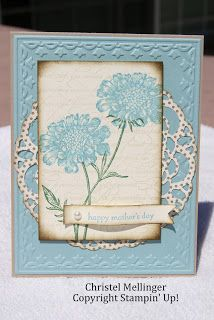 Mother's Day card - Stampin' Up!