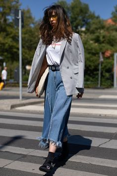 How to Wear Booties with Jeans Take note from the ladies who wear this iconic duo with ease...