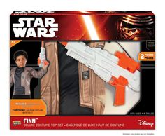 Star Wars: The Force Awakens Finn Child's Costume Set