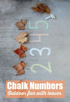 Chalk numbers outdoo