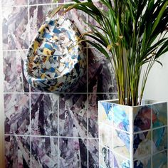 #tiletuesday New Okumi Wine #tiles coming soon with Sensu Neon #tileplanter and Crystal Winter Urinal. These and more will be on display @tentlondon in September. #surfacepattern #surfacepatterndesign #patterndesign #interiors #interiordesign #interioraccessories #architecture #print #ceramics