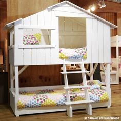Childrens Bespoke Bunkbed Bed | Treehouse Beds | Single Bed | Bedroom Furniture | Bunkbeds