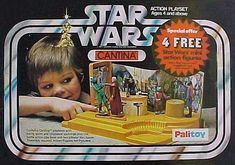 Special Offer Cantina – got this in a sale in the CO-OP in Newcastle… – actionfigure Retro Toys, Vintage Toys, 70s Toys, Star Wars Memorabilia, Science Fiction, Star Wars Merchandise, Star Wars Action Figures, Star Wars Toys, Thing 1