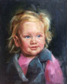 Oilpainting portrait by Carina Kroeze