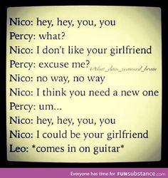 I literally laughed out loud.<<<but I really think Jason would be on the guitar tho