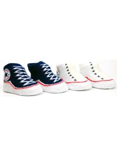 302a8a6c8d18 Converse 2 pack Baby Sock Booties - Navy White. Boxed set only £9.99
