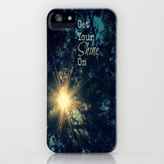 Get Your Shine On iPhone Case by RDelean Designs