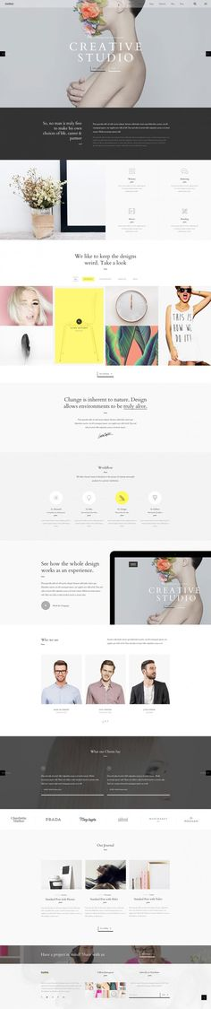 You must know and take care about mentioned things so apt website can be made. In this post, 20 creative website design inspiration 2016 will be displayed.