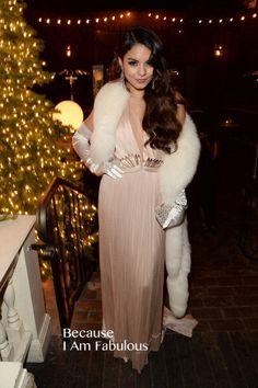 Vanessa Hudges Wearing Maria Lucia Hohan - Vanessa Hudgens Birthday Party