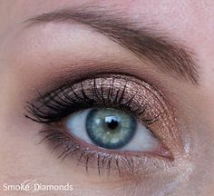 Tolle Augen Make-Ups ohne Lidstrich... ~ Smoke and Diamonds