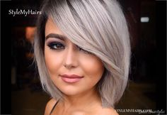 97 Best Layered Bob Haircuts with Bangs In How to Get Modern Bob Hairstyles for 2020 2021 Bangs No, 40 Stunning Short Bob Haircuts with Bangs for 17 Hottest Short Bob with Bangs You Ll See In 30 Layered Bob Haircuts for Weightless Textured Styles. Short Hair Blond, Short Bobs With Bangs, Bangs With Medium Hair, Bobs For Thin Hair, Short Hair Cuts, Short Hair Styles, Wavy Hair, Layered Bob Haircuts, Bob Hairstyles With Bangs