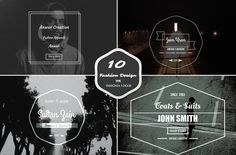 Check out (Sale) 10 Fashion Insignia Logo by symufa1 on Creative Market