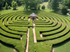 Labrynth in New Harmony, Indiana; out of all the places that I have been in the world, I love this place most of all.