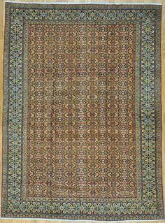 "Tabriz Persian Rug - 7' 2"" x 9' 10""  #tabriz #tebriz #antiquecarpet #antiquecarpets #antiquerug #antiquerugs #carpets #handknotted #handknottedrug #handmade #iran #iranianrug #oldcarpet #orientalcarpet #orientalcarpets #orientalrug #orientalrugs #persiancarpet #persiancarpets #persianrug"