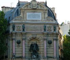 La Fontaine Saint-Michel - Architecture of Paris - Wikipedia