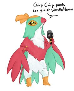 Hawlucha Joins the WWE