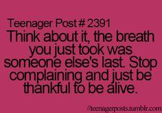 Make everyday count  #suicideawareness