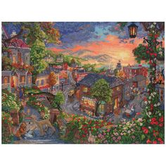 Disney Dreams Collection By Thomas Kinkade Lady