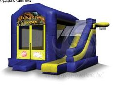 My son has a birthday coming up in a couple of weeks. We are having a big party in our backyard. My wife and I are looking into getting a bounce house like this one in the picture. I think the kids will have a great time playing in this.