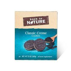 Back To Nature Cookies Classic Crème (6x12 OZ)