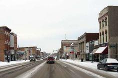 Keokuk, Iowa, Main Street.