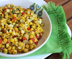Italian Food Forever » Sweet Corn With Peppers And Onions