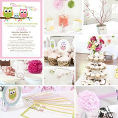 Baby shower ideas I love owls!!