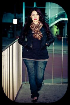 fall looks, fall outfits, plus size fall fashion outfits, plus size fashions, animal prints, leather jackets, curv, big girls, leopard prints