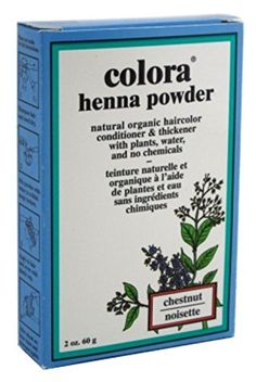 Colora Henna Powder Hair Color Chestnut 2oz (2 Pack) *** More info could be found at the image url.