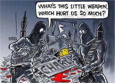"""These """"Je Suis Charlie Hebdo"""" Cartoons Remind Us How Important Free Speech Is Arnold Schwarzenegger, The New Yorker, Caricatures, Social Comics, Anne Sinclair, Twin Towers, Georges Wolinski, Philip Defranco, Paris Terror Attack"""