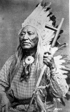 1800 Chief Washakie of the Shoshones
